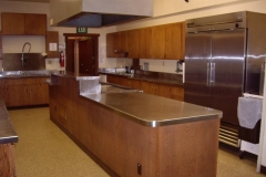 Viking Hall commercial style kitchen