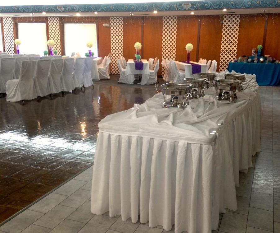 Wedding banquet table sample